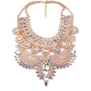 Goddess Beauty Exotic Bold Necklace